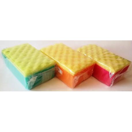 Губка для тела 2 цвета (17 х 10 х 6 см)