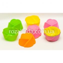 """R70 Силиконовая форма для кекса """"Роза"""""""