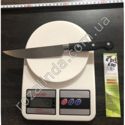R343 Нож чёрная ручка