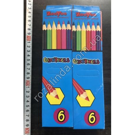 R398 Карандаши цветные (6 шт.)