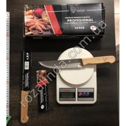 """R332 Нож дерево 7"""""""