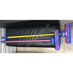 R223 Швабра 1 жим (пластиковая цельная ручка)
