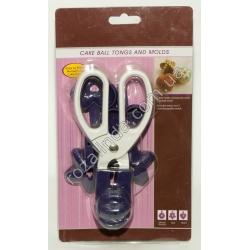 A843 Форма печенье ножницы (3 насадки)(17 х 8 см)