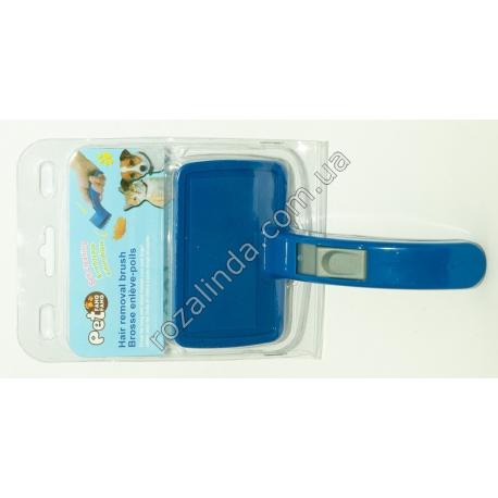 R501 Щётка для вычёсывания шерсти с регулятором (20 х 12 х 7,5 см)