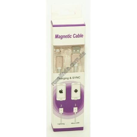 R418 Универсальный магнитный USB кабель для iPhone