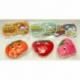 R55 Мочалка детская фрукты в форме сердца