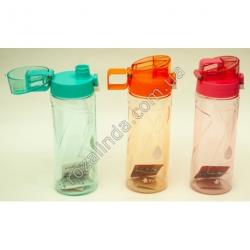R45 Спортивная бутылка - поилка 0,5 л (цветная)