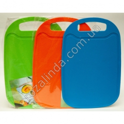 R129 Доска пластиковая кухонная прямоугольная (32,5 х 21,5 см)