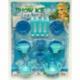 R652 Детский чайный набор голубой на блистере