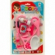 R618 Набор доктора на блистере 7 предметов (розовый)