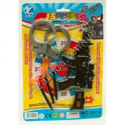 R622 Автомат + 3 патрона + наручники на блистере