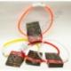 R521 LED ошейник для собак (светящийся) с зарядкой USB (70 см)