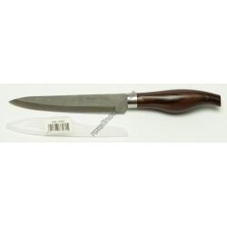 R561 Нож кухонный ручка под тёмное дерево