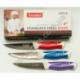 """R552 Нож кухонный цветной ручка 4"""""""