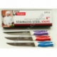 "R554 Нож кухонный цветная ручка 6"""