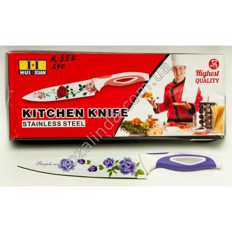 R556 Нож кухонный металло-керамика 28,5 см