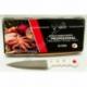"""R539 Нож кухонный фигурный бел. ручка с золотыми точками 6"""" (93 г)"""