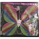 R640 Крылья феи радужные + волшебная палочка + обруч