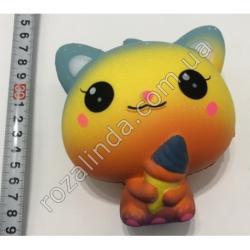 """R725 Игрушка - сквиш """"""""Котёнок мороженое"""" (11 х 10 х 6,5 см)"""