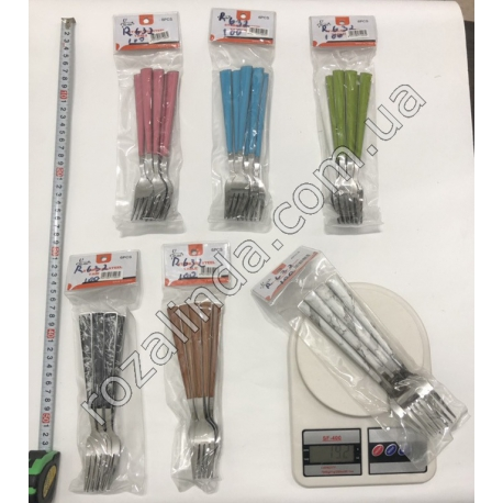 R632 Вилка усиленная цветная ручка (190 г)