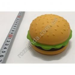 """R723 Игрушка - сквиш """"Гамбургер"""" (10 х 6 см)"""