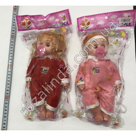 R741 Кукла - пупс с пустышкой (25 см)