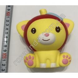 """R728 Игрушка - сквиш """"Котёнок"""" (11 х 11 х 7 см)"""