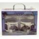 "R768 Набор чашек ""Lavender"" (коробка-сумка) (25 х 18 х 9 см)"""
