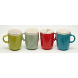 R783 Чашка рисунок вязка/косичка (11 х 8 см)