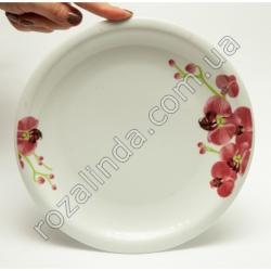 R840 Тарелка с орхидеей Ø24 см