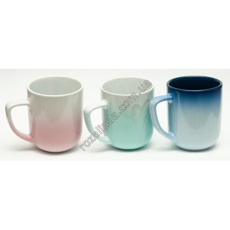 R795 Чашка большая с эффектом амбре (11 х 9 см)