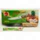 R675 Нож с деревянной ручкой 55 г (24 см)