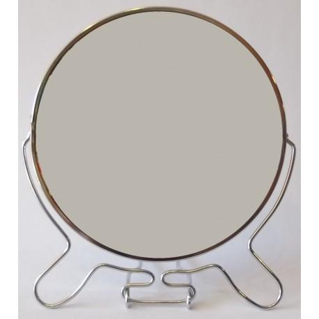 "A159 Зеркало 2х стороннее металл 7"""