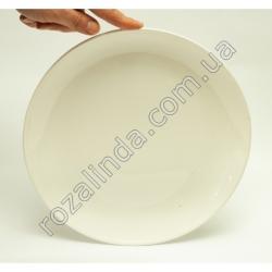 R817 Тарелка стеклокерамика д/втор. блюд Ø25 см глубина 2,5 см 659 г