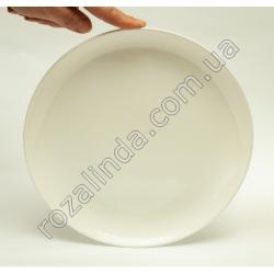 R816 Тарелка стеклокерамика д/втор. блюд Ø23 см глубина 2 см 505 г