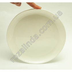 R815 Тарелка стеклокерамика д/втор. блюд Ø20 см глубина 2 см 359 г