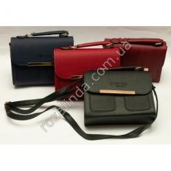 A1134 Сумка женская чемоданчик с карманами