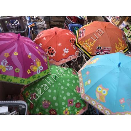R78 Зонт детский: Бабочка, Сова, Божья коровка, Пожарная машина