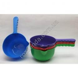 Ковш пластик цветной 1,5 л