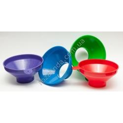 Лейка для банок цветная (пластик)