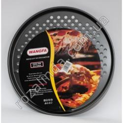 M49 Форма для пиццы (с отверстиями) тефлон D: 32 х 1,5 см 200 г