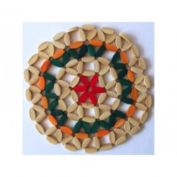 A254 / A256 Подставка бамбук круглая