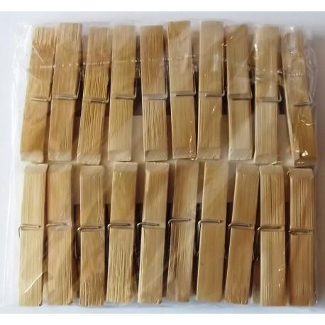 A52 Прищепка бамбук (большая)