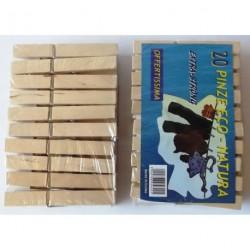 A54 Прищепка деревянная 10 см (большая)