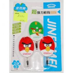 А471 Вешалки (3 шт.) Angry Birds
