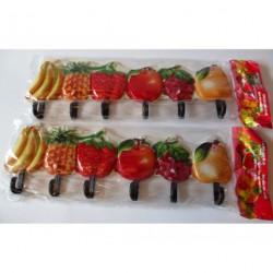 A48 Вешалка фрукты 6 крючков