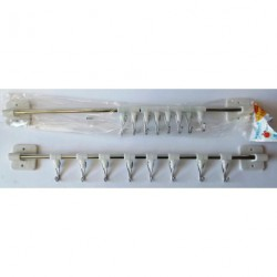 A47 вешалка для кухни( 8 крючков)